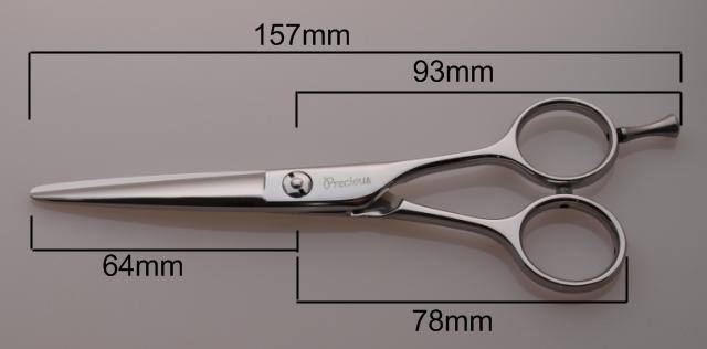 NKV-55 カットシザーの寸法